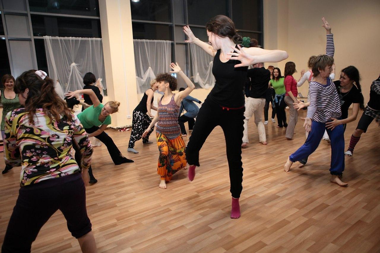 Танец мастер класс фото